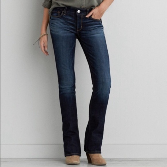 "4f31f6f7628 American Eagle Outfitters Denim - AEO ""Skinny Kick"" Bootcut Jeans"